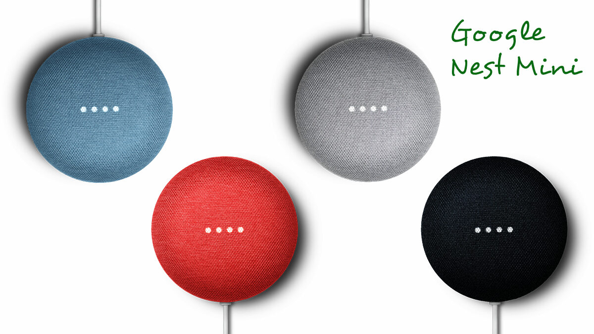 Google Nest Mini, the Small Smart Home-based Mini Speaker is renewed