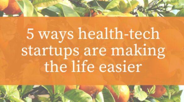 5 ways health tech startups