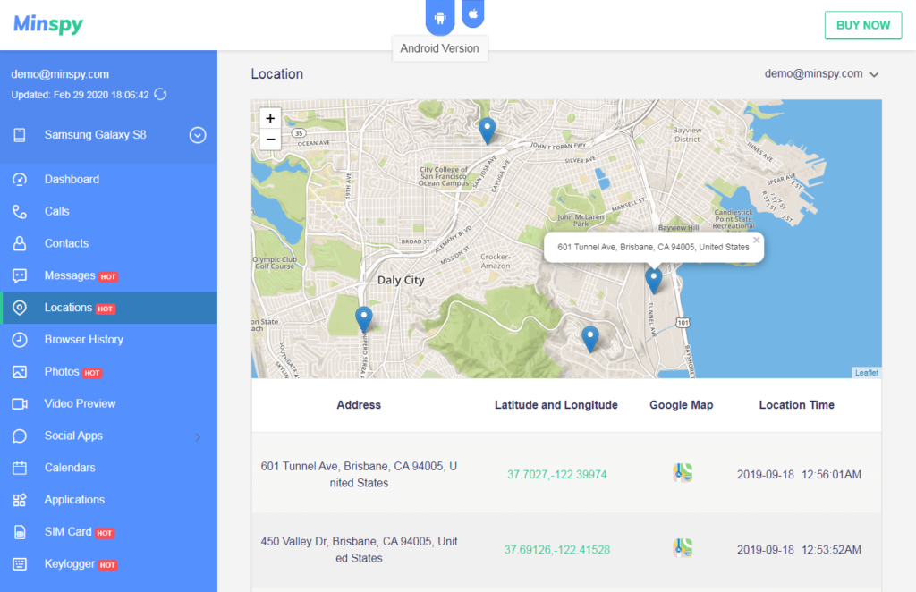 minspy-track-cell-phone-location