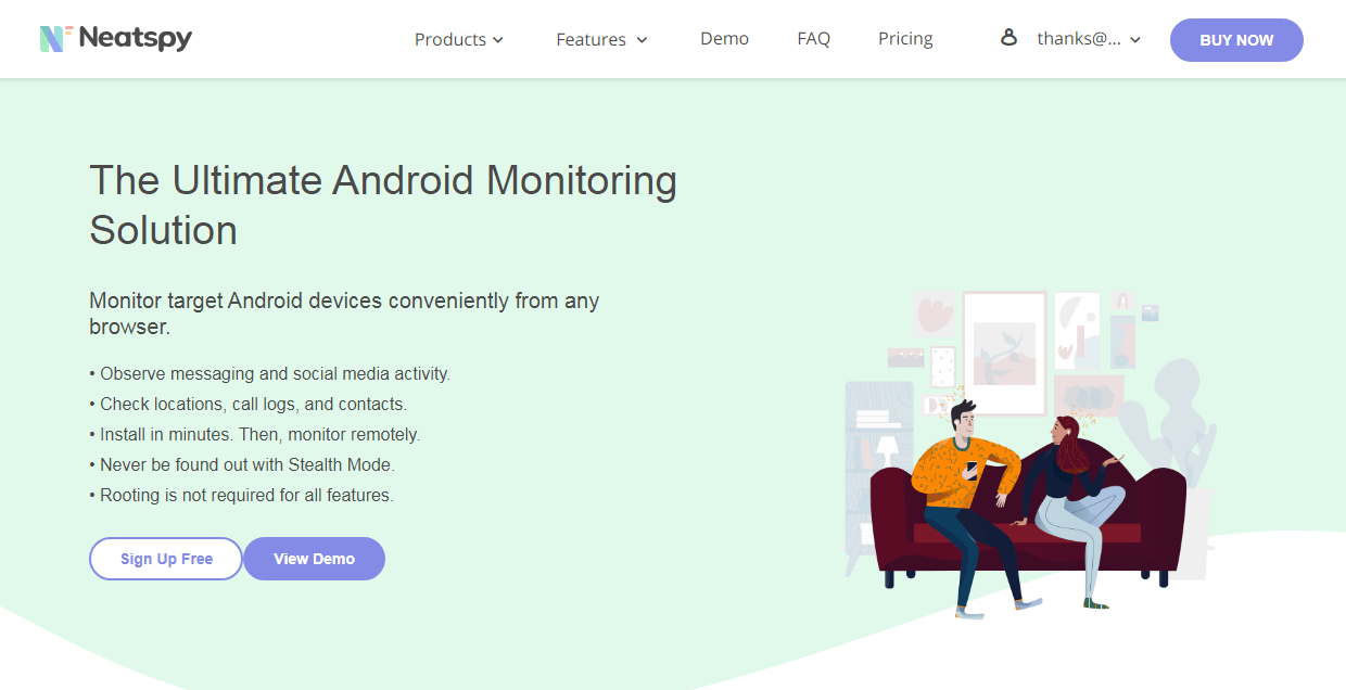 neatspy-android-spy