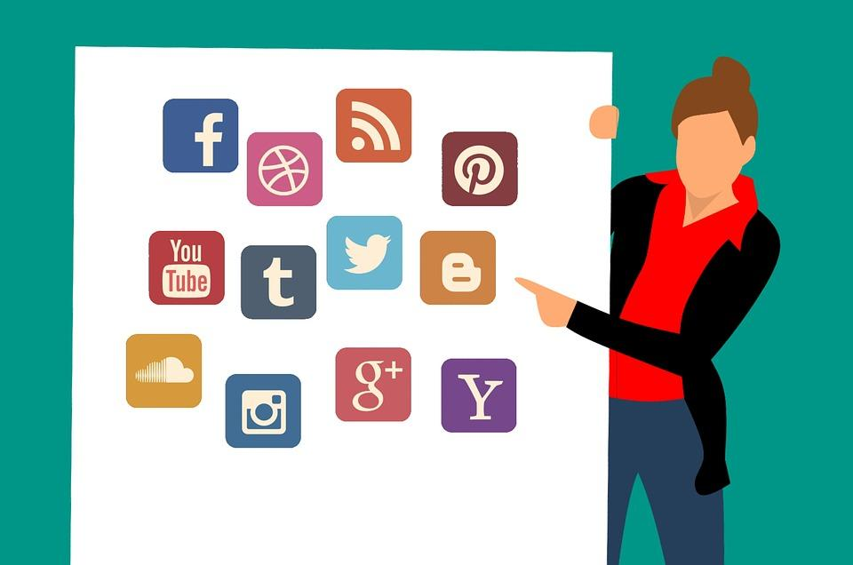 Different Types of social media advertisements